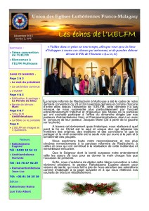 BULLETIN UELFM N°5 DEC 2015